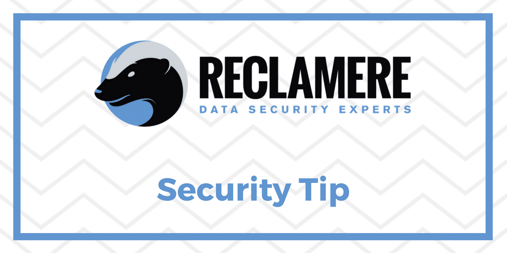 Twitter - Security Tip Image
