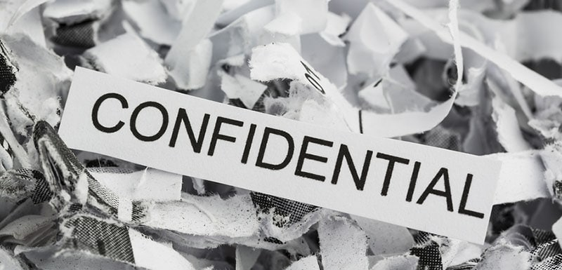 Paper shredding -confidential in Central PA by Reclamere